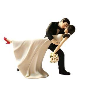 Hand Painted Wedding Figurine